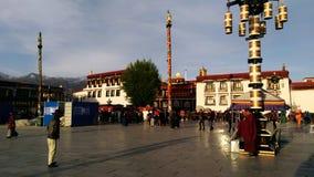 Het hart van Lhasa stock afbeelding