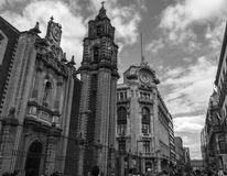 Het hart van Mexico-City royalty-vrije stock afbeelding
