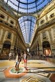 In het hart van Milaan, Italië Royalty-vrije Stock Foto