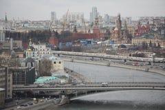 Het hart van Moskou Royalty-vrije Stock Foto's