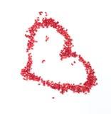 Het hart van parels Stock Fotografie