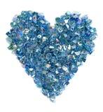 Het hart van stenen Stock Foto