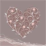 Het hart van Tracery Royalty-vrije Stock Afbeelding
