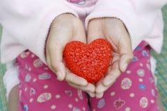 Het Hart van valentijnskaarten Stock Foto's