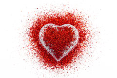 Het hart van Valentin Royalty-vrije Stock Afbeelding