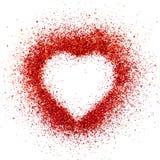 Het hart van Valentin Stock Afbeelding
