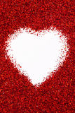 Het hart van Valentin Royalty-vrije Stock Fotografie
