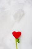 Het hart van Valentine Stock Foto's