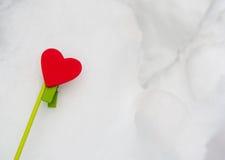 Het hart van Valentine Royalty-vrije Stock Foto