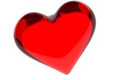 Het hart van Valtntine Stock Foto's