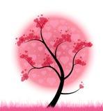 Het hartboom van de liefde Stock Fotografie