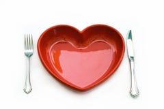 Het hartelijke Eten Stock Foto
