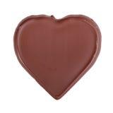 Het hartvorm van de chocolade Stock Foto's