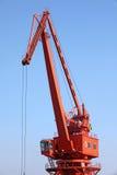 De Kraan van de haven royalty-vrije stock foto
