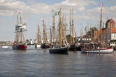 Het havenleven Royalty-vrije Stock Afbeeldingen
