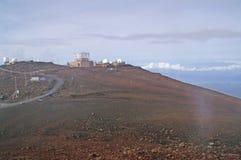 Het Hawaiiaanse waarnemingscentrum stock afbeeldingen