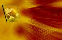 Het heelal van Internet Stock Afbeelding