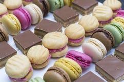 Het heerlijke snoepje behandelt Stock Fotografie
