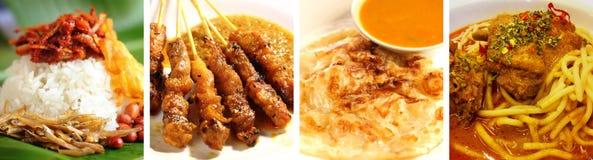 Het heerlijke voedsel van Maleisië Stock Afbeeldingen