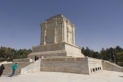 Het heiligdom en het standbeeld van dichter Firdausi Stock Foto's