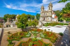 Het Heiligdom Portugal van Braga stock foto