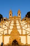 Het heiligdom van Bom Jesus doet Monte de Braga stock foto's
