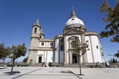 Het Heiligdom van Braga van Sameiro stock fotografie