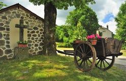 Het heiligdom van de kant van de weg, Frankrijk Stock Foto's