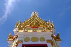 het heiligdom van de stadspijler phitsanulok de bovenkant Royalty-vrije Stock Foto's