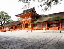 Het Heiligdom van de V.S. in de prefectuur van Oita, Japan royalty-vrije stock afbeelding