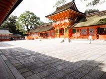 Het Heiligdom van de V.S. in de prefectuur van Oita, Japan royalty-vrije stock fotografie