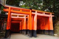 Het Heiligdom van Fushimiinari Royalty-vrije Stock Afbeelding