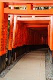 Het Heiligdom van Fushimiinari Royalty-vrije Stock Fotografie