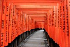 Het Heiligdom van Fushimiinari, een belangrijk Shinto-heiligdom, in Zuidelijke KY Royalty-vrije Stock Foto's