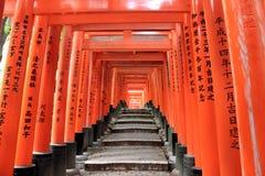 Het Heiligdom van Fushimiinari, een belangrijk Shinto-heiligdom, in Zuidelijke KY Stock Foto