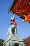 Het heiligdom van Fushimiinari Taisha. Kyoto. Japan Stock Foto