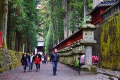 Het Heiligdom van Futarasan, Nikko Stock Foto