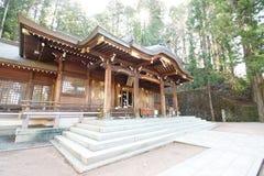 Het Heiligdom van Hachimangu van Sakurayama stock afbeeldingen