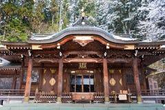Het Heiligdom van Hachimangu van Sakurayama Royalty-vrije Stock Afbeeldingen