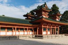 Het Heiligdom van Heian royalty-vrije stock afbeeldingen