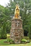 Het Heiligdom van heilige Anne ` s, Eilandenla motte, een eiland in Meer Champlain, Grote Eilandprovincie, Vermont, Verenigde Sta royalty-vrije stock foto