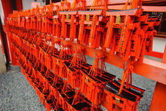 Het Heiligdom van herinneringsfushimi Inari Royalty-vrije Stock Foto's