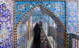 Het heiligdom van Imam Hussein in Karbala Royalty-vrije Stock Foto