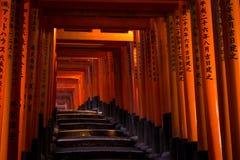 Het Heiligdom van Inari van Fushimi Royalty-vrije Stock Foto's