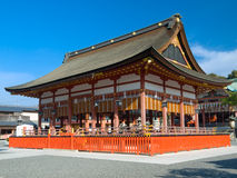 Het Heiligdom van Inari van Fushimi Stock Afbeelding