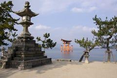Het Heiligdom van Itsukushima Stock Foto's