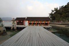 Het Heiligdom van Itsukushima royalty-vrije stock afbeeldingen
