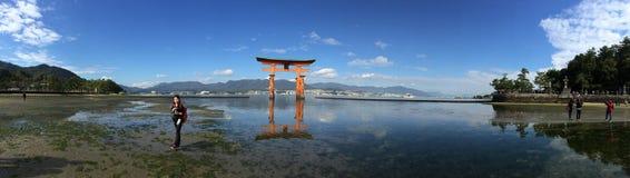 Het Heiligdom van Itsukushima Stock Foto