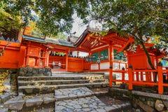 Het heiligdom van Kasugataisha in Nara royalty-vrije stock fotografie
