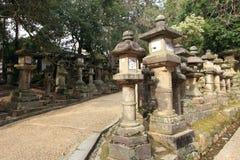 Het Heiligdom van Kasugataisha, Nara, Japan Stock Afbeelding